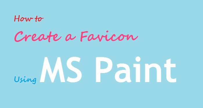 create favicon ms paint